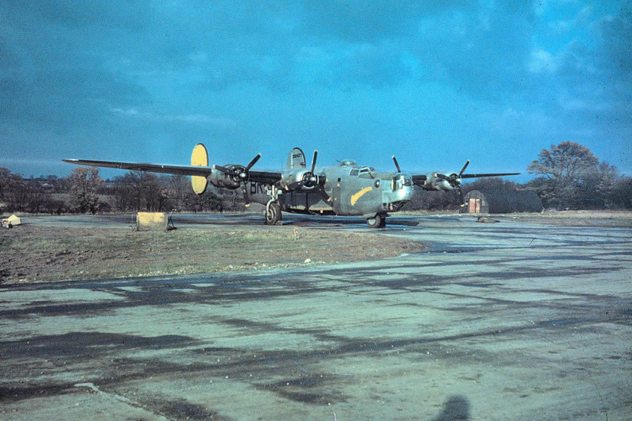 Halesworth 489th BG Liberator
